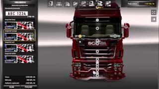 getlinkyoutube.com-Euro Truck simulator 2 Mod Scania Mega Tuning