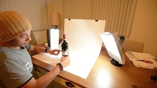 getlinkyoutube.com-How to set up a DIY desktop product photography table