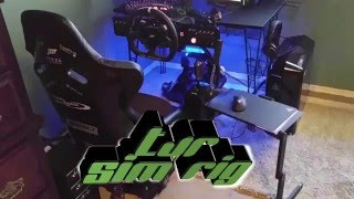 getlinkyoutube.com-TJR Sim Racing Rig Overview