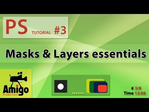 Photoshop Tutorial #3- Masks & Layers essentials