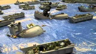 getlinkyoutube.com-Playmobil - Débarquement de Normandie du 6 juin 1944
