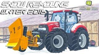 getlinkyoutube.com-Winter 2016 - Snow plowing - removing
