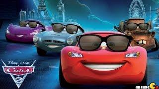 getlinkyoutube.com-Disney Cars 2 Lightning McQueen Battle Race Disney Pixar Cars Toon