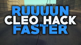 getlinkyoutube.com-[SAMP 0.3.7] CLEO Speed Hack - Run Really Fast ● Belciuu