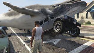 getlinkyoutube.com-GTA 5 Mods - JURASSIC WORLD T-REX ATTACK MOD GTA 5 T-Rex Mod Gameplay GTA GTA 5 Jurassic World mod