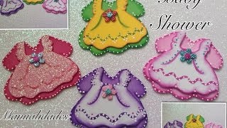 getlinkyoutube.com-VESTIDITOS  DOBLES  PARA  BABY  SHOWER