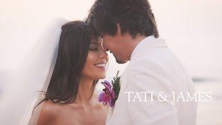 getlinkyoutube.com-OUR WEDDING | Tati and James Wedding