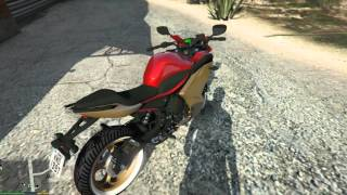getlinkyoutube.com-GTA V : Moto Vlog -  XJ6 F -  Acidente Grave EP#12