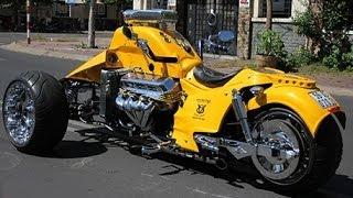 getlinkyoutube.com-Boss Hoss Trike V8 502ci - Hot Rod Style 8228cc The biggest Engine ever