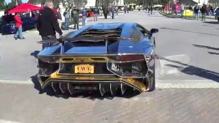World's CRAZIEST Supercars Rat Rods Hot Rods and Custom Тuning.  Cars and Coffee Palm Beach