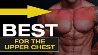 """getlinkyoutube.com-How to get a BIGGER UPPER CHEST - The """"Ultimate Chest Exercise"""""""