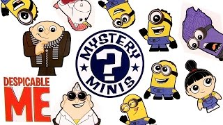 getlinkyoutube.com-Despicable Me 2 Surprise Mystery Minis Funko Vinyl Figures of Minions Purple Minion by ToyCollector