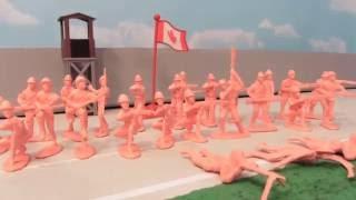 getlinkyoutube.com-HUGE 4 COLORS! 200 PIECE ARMY MEN BUCKET REVIEW!