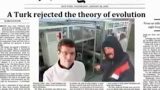 Evrim teorisini tek soruyla çürüten adam
