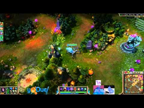 XJ9 - Elise jungle [TeamRanked] (Diamond l)