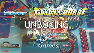 getlinkyoutube.com-Future Card Buddyfight H-BT02 Galaxy Burst Unboxing