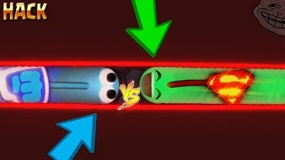 getlinkyoutube.com-Slither.io BORDER HACK / TRAPPING TRICK / Superman Skin /BEST TROLLING MOMENTS