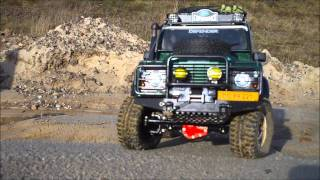 getlinkyoutube.com-RC Land-Rover Trial in Varde-DK