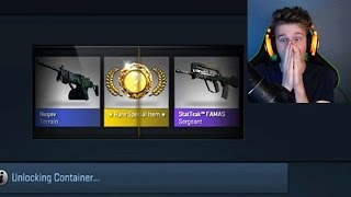 getlinkyoutube.com-My First CSGO Case Opening (EPIC KARAMBIT KNIFE REACTION)