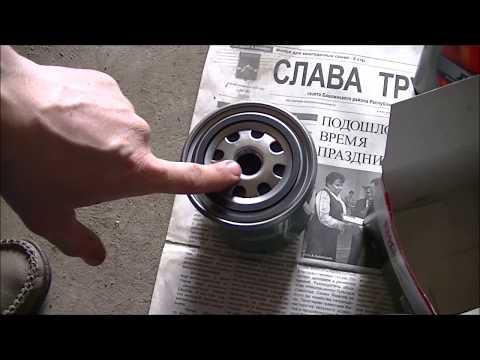 ЗАМЕНА МАСЛА И ФИЛЬТРА НА ВАЗ -2106