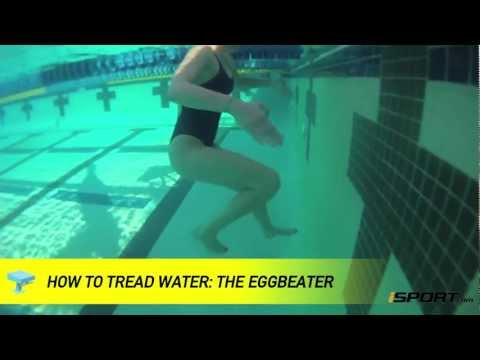 How to Tread Water in Swimming: The Eggbeater