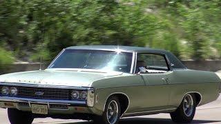 1969 Chevy Impala Custom 396 Survivor Cruising in Dallas, Texas