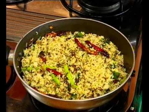 Andhra Recipes - Chinta Chiguru Pulihora - Chitti Chegodilu - 02