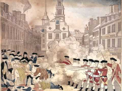 Analyzing Revere's Engraving of the Boston Massacre