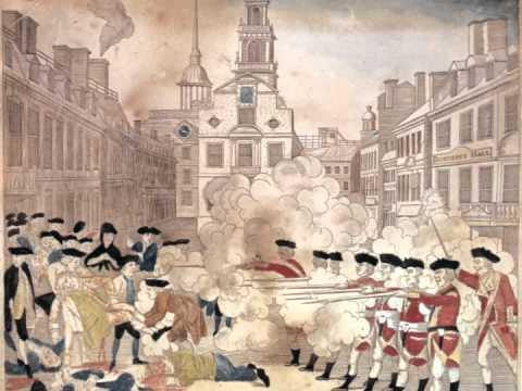 Analyzing Revere's Engraving of the Boston Massacre