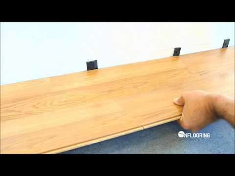 ff Inflooring Kako se montira clic-clak parket, laminat