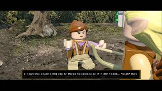 getlinkyoutube.com-LEGO The Hobbit - Overworld Guide #16 - Barrow-downs & Bywater (Mithril Bricks & Characters)