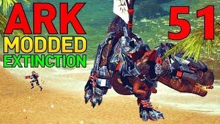 [51] White Tribe's Apex Tek T-Rex!!! (ARK Extinction Core - ARK Modded Survival Multiplayer S4)