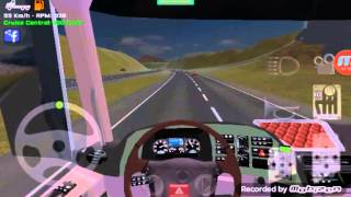 getlinkyoutube.com-Grand truck simulator Mercedes actros mp4 top speed