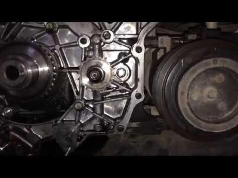 Hyundai H-1 Grand Starex 2.5 CRDI выставить метки балансирных валов