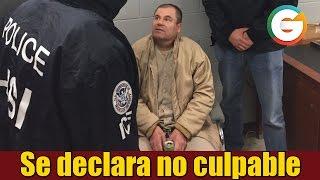 getlinkyoutube.com-El Chapo se declara no culpable