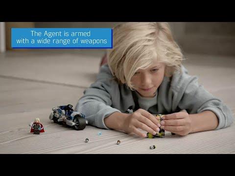 LEGO Marvel Avengers Speeder Bike Attack - 76142