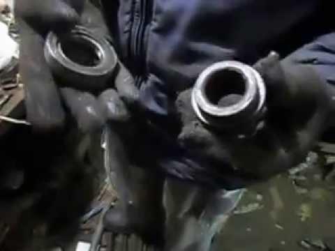 Бюджетный выжимной при установки Вазовского мотора на ЛуАЗ
