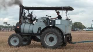 getlinkyoutube.com-Steam Traction Engine Ploughing