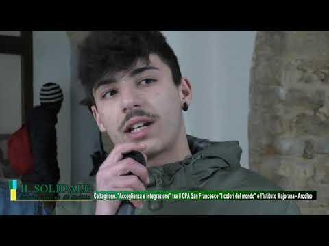 Video: ACCOGLIENZA E INTEGRAZIONE tra il Cpa San Francesco I Colori del Mondo e l'istituto Majorana Arcoleo