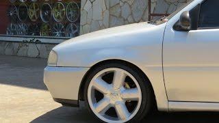 """getlinkyoutube.com-GOL BOLA + RODAS ZUNKY ZK460 GTI 17"""" + PNEUS 185/40/17 + MOLAS RED COIL"""