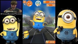 getlinkyoutube.com-IT'S MINION RUSH!!! | Ethan plays Mobile Games