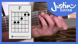 getlinkyoutube.com-3 Ways of Playing F Chord - Guitar Lesson - Guitar for Beginners Stage 6 [BC-161]