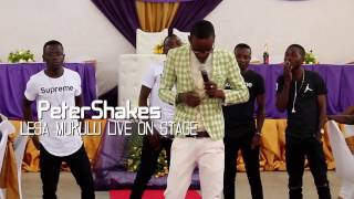 Peter Shakes -  lesa mukulu live on stage 2 width=