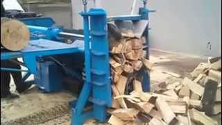 getlinkyoutube.com-Industrial Wood Splitter