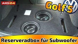 getlinkyoutube.com-Reserveradbox für Subwoofer im Kofferraum selber bauen! || Tutorial || ARS24.com