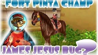 getlinkyoutube.com-Fort Pinta Champ James Jesus bug Star Stable
