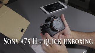 getlinkyoutube.com-A quick Sony a7s II unboxing - sony a7s2 - sony a7sii