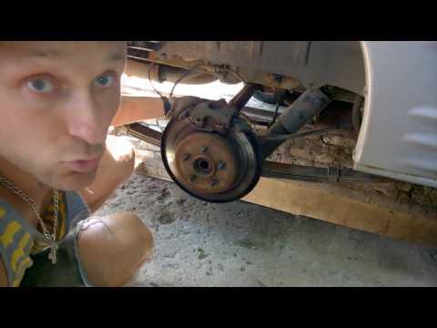 Где находятся передние тормозные диски в Додж Рам