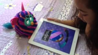 getlinkyoutube.com-Cuidando da minha Furby Boom com o app