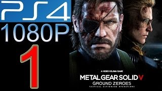 getlinkyoutube.com-Metal Gear Solid Ground Zeroes Walkthrough part 1 PS4 1080p Metal Gear Solid 5 V Gameplay let's play